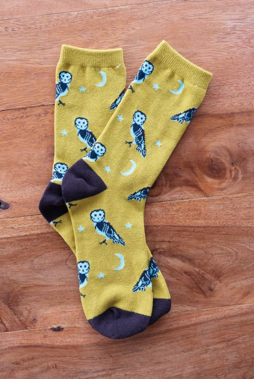Dahl Organic Cotton Owl Socks