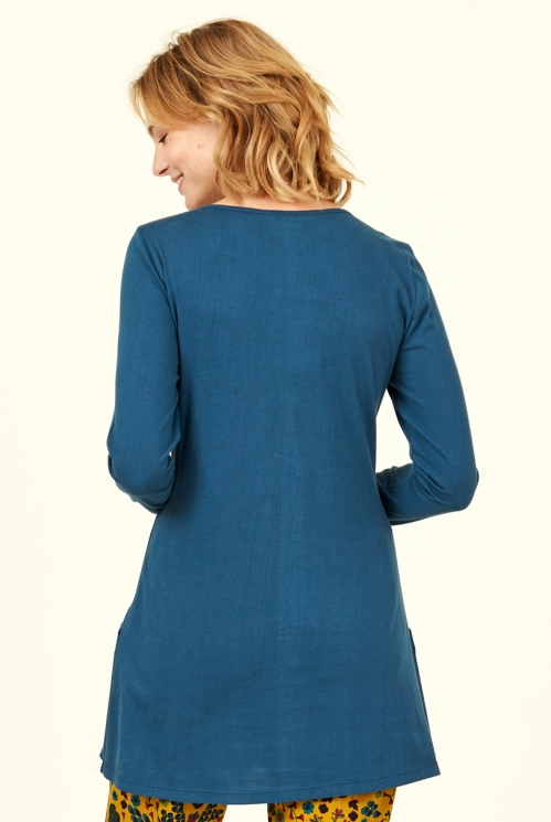 Biscay Organic Cotton Pintuck Pocket Tunic