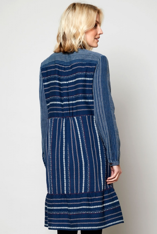 Oslo Fair Trade Ethically Made Pannelled Tunic Dress