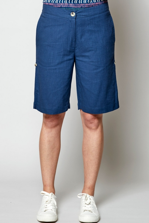 Voyage Ethically Made Textured Shorts