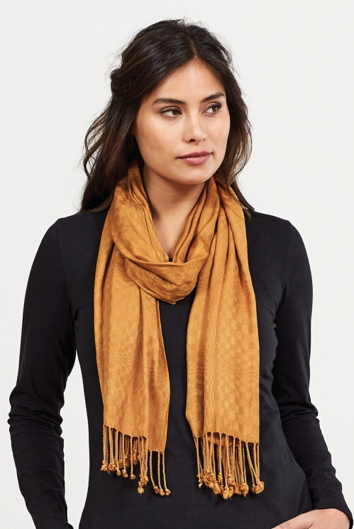 Spice Fair Trade Viscose Tassel Scarf