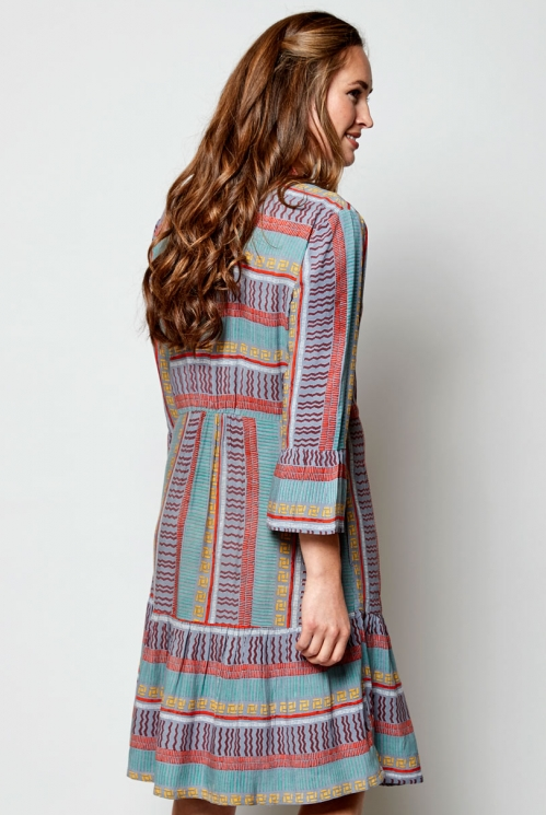 Pearl Zen 3/4 Sleeve Tunic Dress