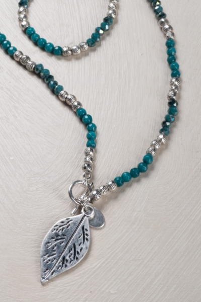 Adjustable Leaf Necklace