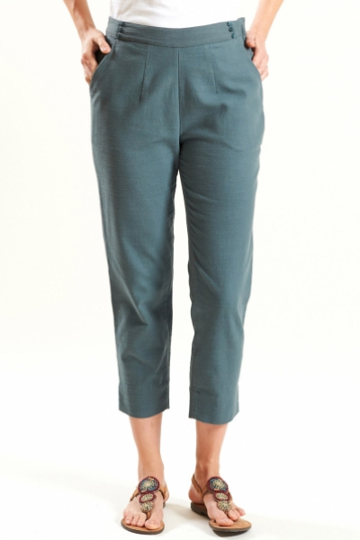 Slim Crop Trouser