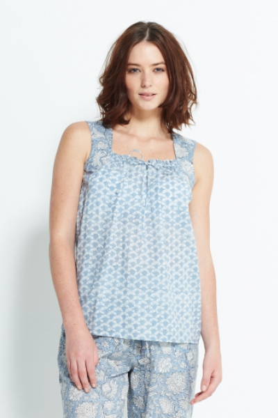 Block Printed Cami