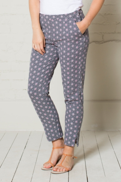 Canvas Printed Trouser