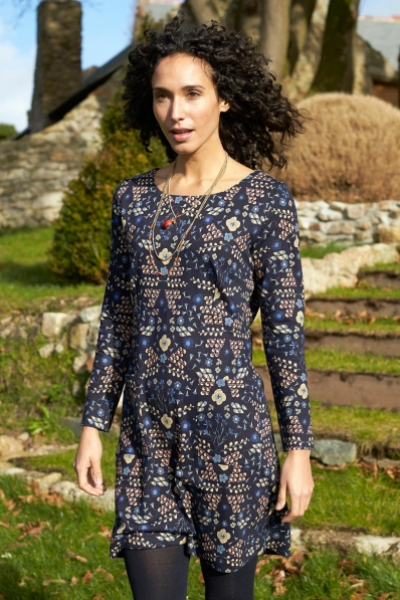Bloomsbury Cotton Jersey Tunic Dress