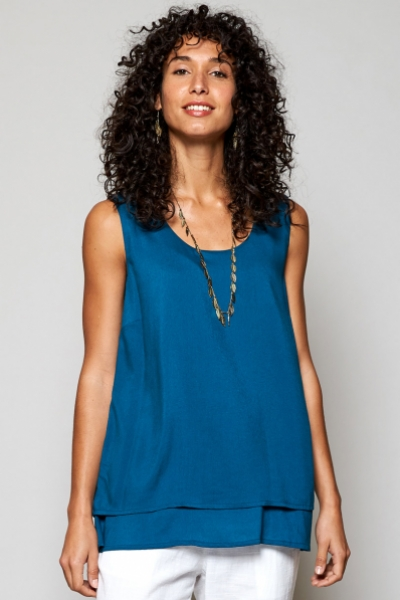 Double Layer Vest Top