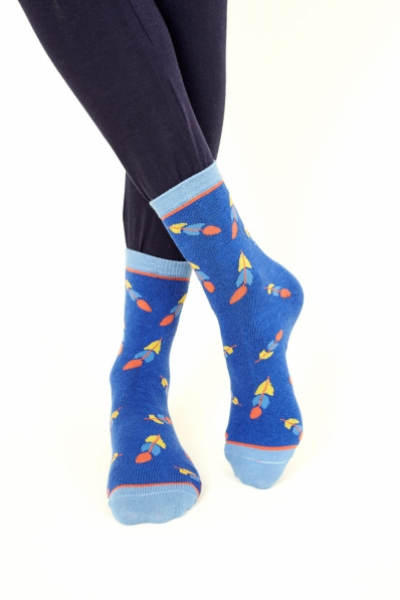 Feather Organic Cotton Socks