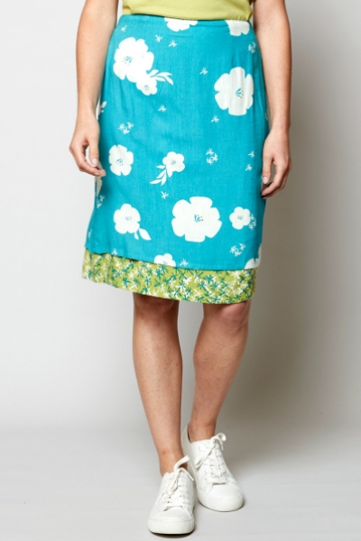 Hibiscus Reversible Skirt