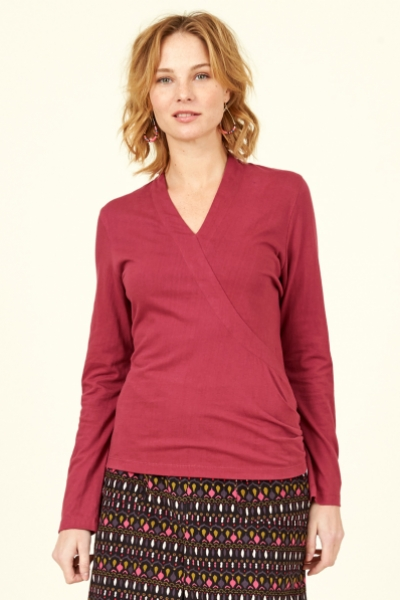 Organic Cotton Crossover Top