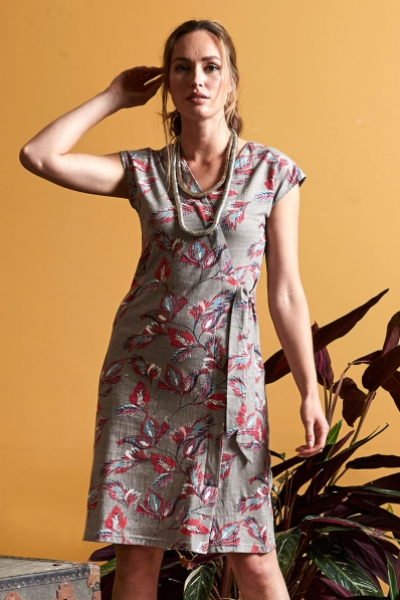 Organic Cotton Tie Side Dress
