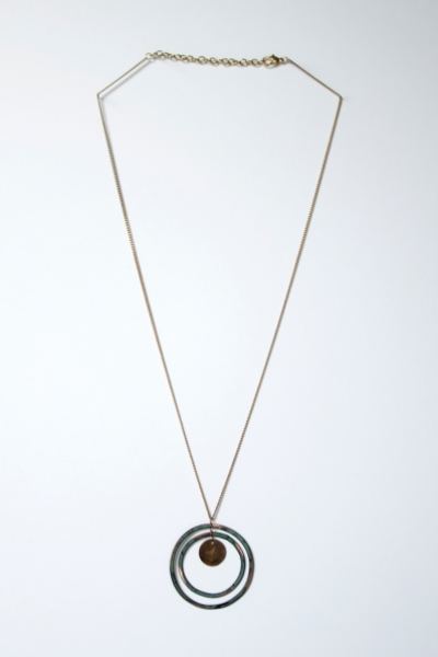 Patina Loop Necklace