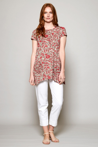 Point Hem Organic Cotton Tunic