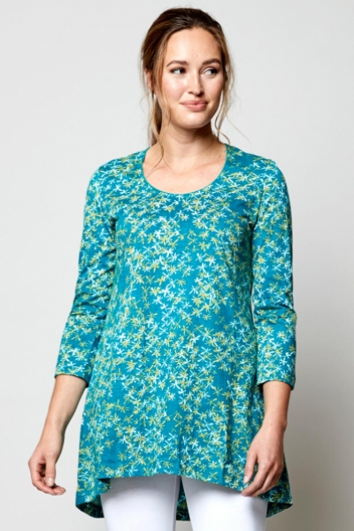 Scoop Hem Organic Cotton Tunic
