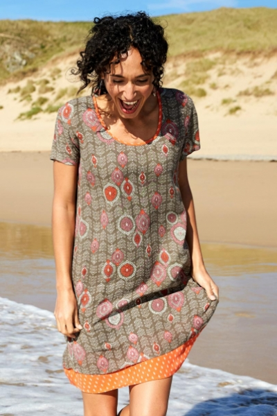 Zanzibar Tunic Dress with Pockets